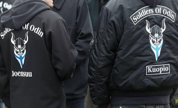 Soldiers of Odin -yhdistyksellä ei ole rekisteröityä tavaramerkkiä tuotteisiinsa.