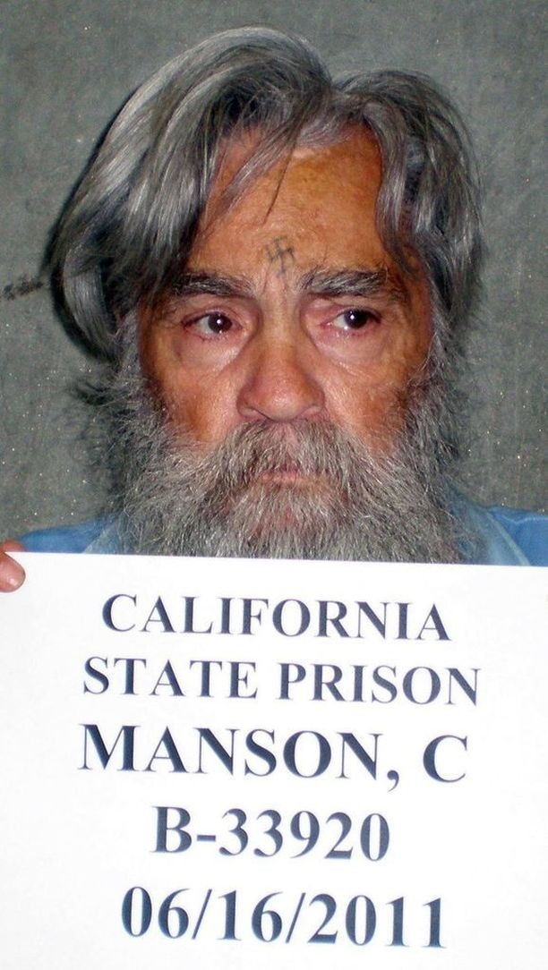 Charles Manson kuoli 83-vuotiaana. Tässä kuva vuodelta 2011.
