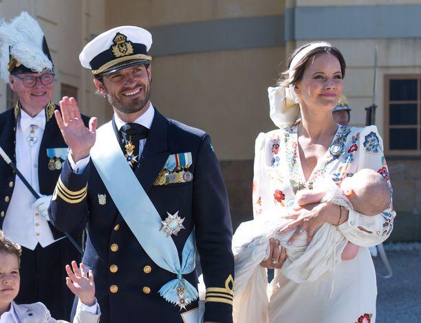 Prinssi Julian kastettiin 14. elokuuta.
