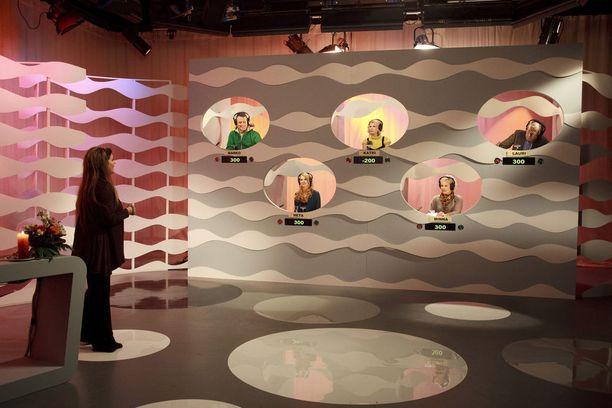 Tältä Riitta Väisäsen juontama Kymppitonni näytti vuonna 2009.