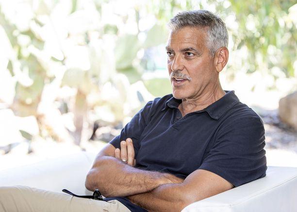 George Clooney nähtiin myös prinssi Harryn ja herttuatar Meghanin häissä keväällä 2018.