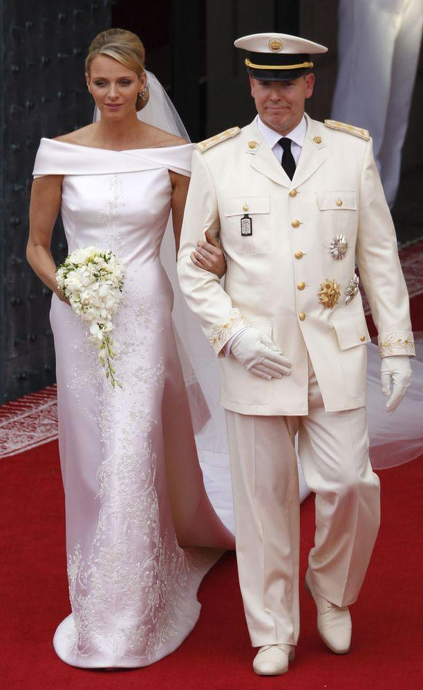 Charlenesta tuli ruhtinatar, kun hän avioitui ruhtinas Albertin kanssa heinäkuussa 2011.