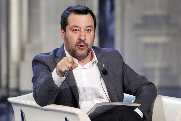 Matteo Salvini aikoo valloittaa seuraavaksi Euroopan.