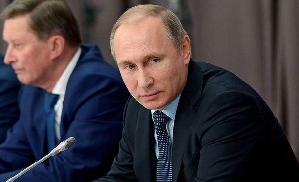 Venäjän presidentti Vladimir Putin asetti Turkille sanktiot, koska Turkki pudotti Venäjän sotilaskoneen.