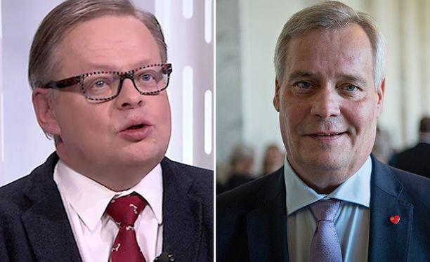Vartiaisen mukaan SDP:n puheenjohtaja Antti Rinne on vienyt puoluetta väärään suuntaan.