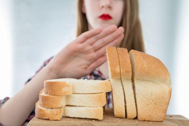 Noin 80–90 prosenttia viljatuotteista oireita saavista on terveitä. Heille  hoitokeinoksi riittää leivän syönnin vähentäminen.