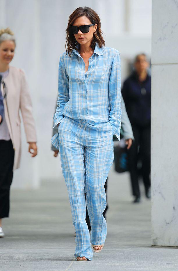 Pyjamatyyli on edelleen ajankohtainen.