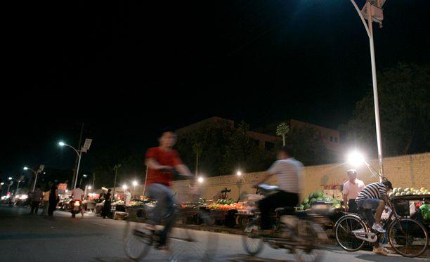 Erikoinen pahoinpitely tapahtui Dezhoussa Kiinassa.