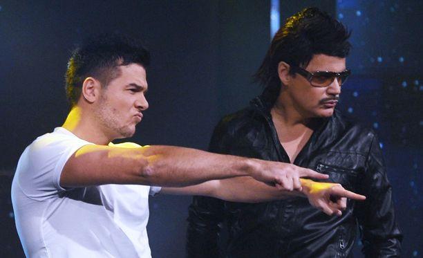 D'Santz ja Günther osaavaat poseeraamisen taidon.
