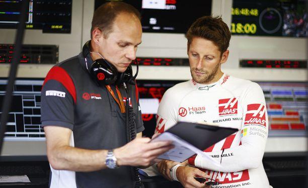 Romain Grosjean on ajanut tällä kaudella neljästi kymmenen parhaan joukkoon.