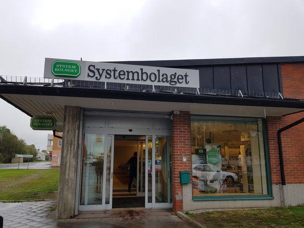 Suomalaiskortit eivät toimineet lauantaina Ruotsin Systembolageteissa. Kuvituskuva.