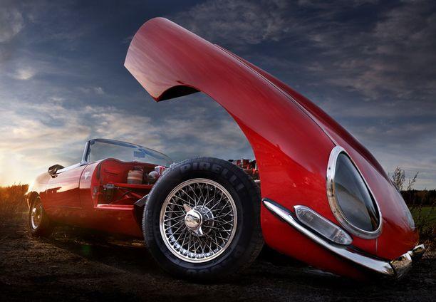Jaguar E-Type vm. 1968