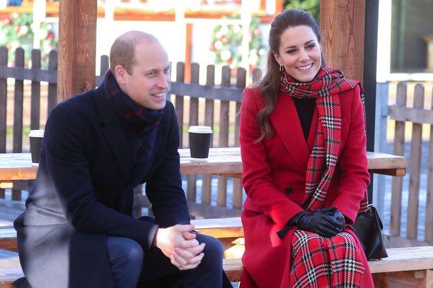 Prinssi William ja herttuatar Catherine syksyllä 2020.