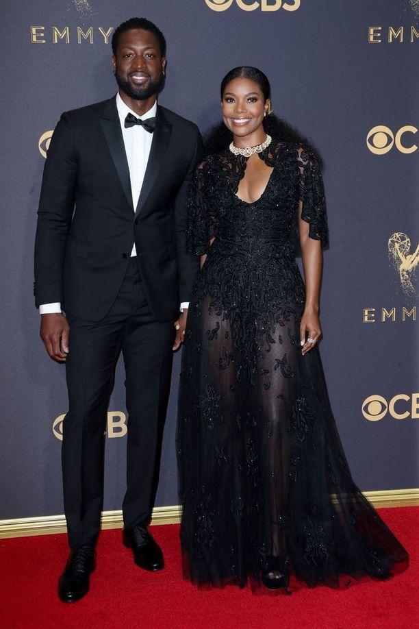 Gabrielle Union on naimisissa NBA-pelaaja Dwayne Waden kanssa.