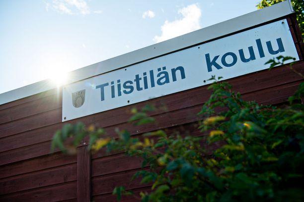 Tapaus sattui Espoon Tiistilän koulussa viime viikolla.