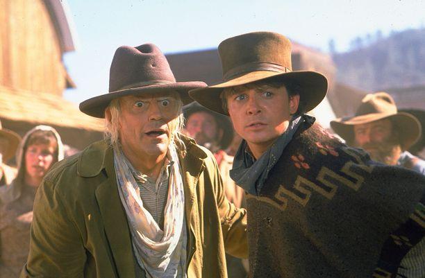 Tohtori ja Marty elokuvasarjan kolmannessa osassa.
