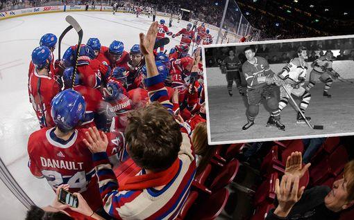 Montreal Canadiensin legendan kohtelu aiheutti mellakan – 100 pidätettiin 1950-luvulla