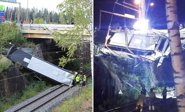 Linja-auto putosi eilen junaraiteille Kuopiossa kohtalokkain seurauksin.