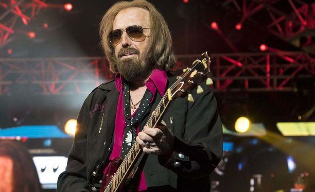 Tom Petty kuvattuna syyskuussa 2017.