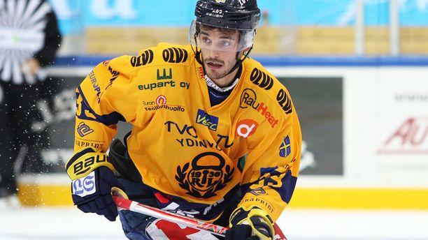 Peter Tiivola ampui Lukon voittomaalin.