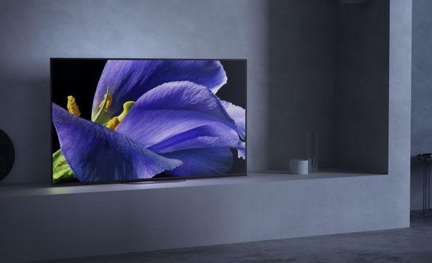 Sony julkisti uudet televisionsa.