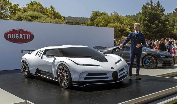 Centodieci on muotoiltu EB110 -mallin perinteitä kunnioittaen, mutta tekniikka on peräisin Bugatti Chironista.