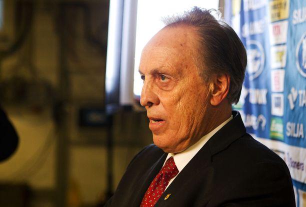 Vincent Manngard on ollut 1990-luvun puolivälistä lähtien Ilveksen pääomistaja.