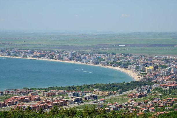 Bulgarian Sunny Beachiin saa pakettimatkoja hyvinkin kohtuulliseen hintaan.
