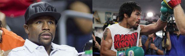 Floyd Mayweather juniorin ja Manny Pacquiaon ottelusta on unelmoitu vuosia.