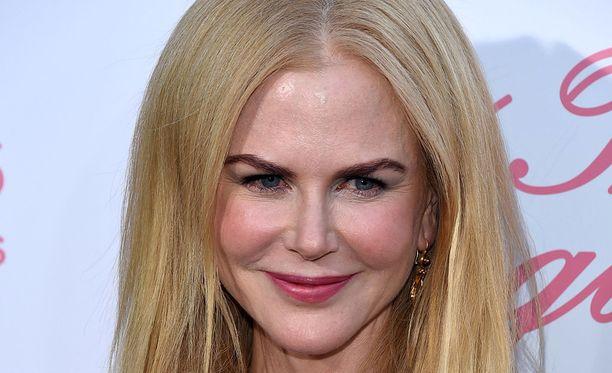 Nicole Kidman sai parhaan naispääosan Oscar-palkinnon elokuvasta Tunnit.