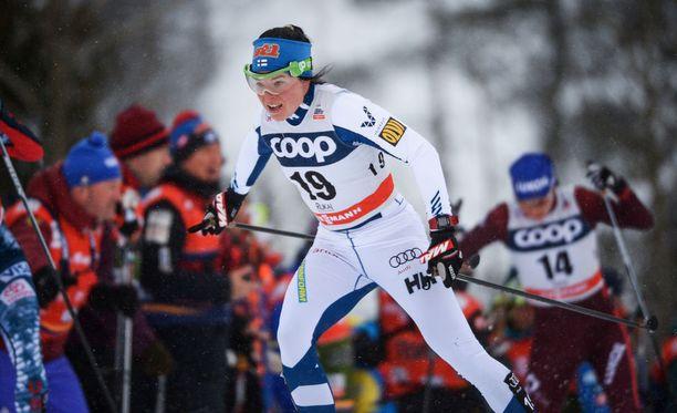Krista Pärmäkoski on Suomen todennäköisin henkilökohtainen olympiamitalisti kaksi kuukautta ennen Korean kisojen alkua.
