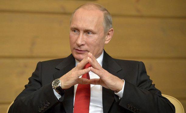Vladimir Putinin suosio venäläisten keskuudessa on jälleen lisääntynyt.