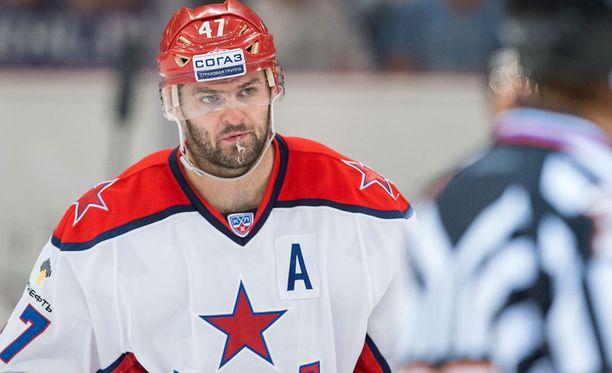 Aleksandr Radulov tienaa rattoisasti ZSKA:ssa.