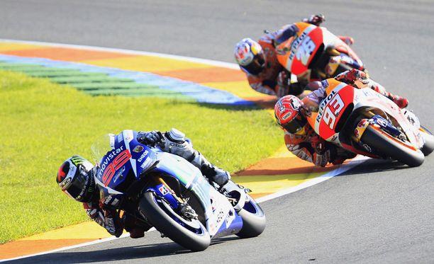 Jorge Lorenzo kurvaili MotoGP:n maailmanmestariksi.