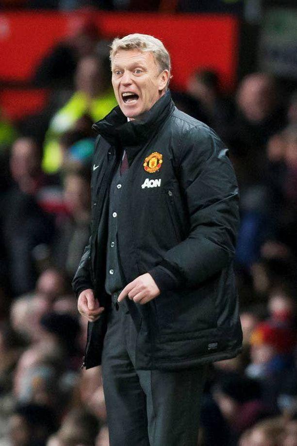 David Moyes karjui eilen tuskasta, kun Sunderland kyykytti Unitedia rankkarikisassa Old Traffordilla.