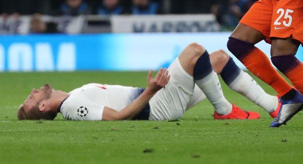 Harry Kanen loukkaantuminen vie Tottenhamilta maaliuhkaa.