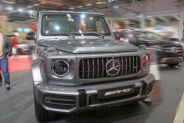 Aitomaasturi Mercedes G-sarja oli ylittämätön isojen SUV/katumaasturien joukossa.