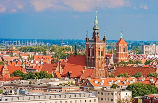 Puolan Gdanskiin pääsee todella edullisesti Turusta. Matka taittuu nopeasti suorilla lennoilla.