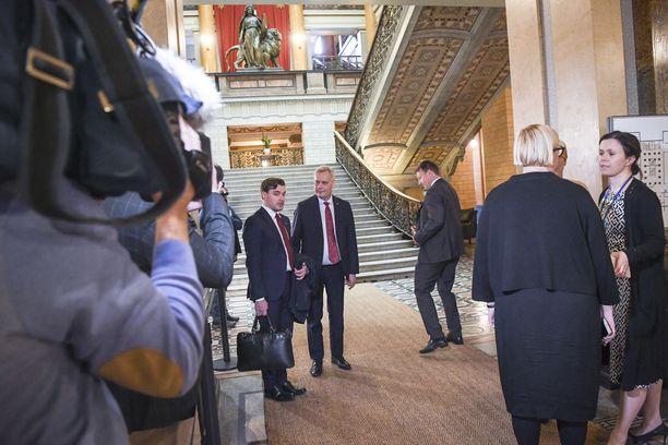 Hallitusneuvotteluja käytiin viime viikot Säätytalolla. Valmista tuli perjantaina.