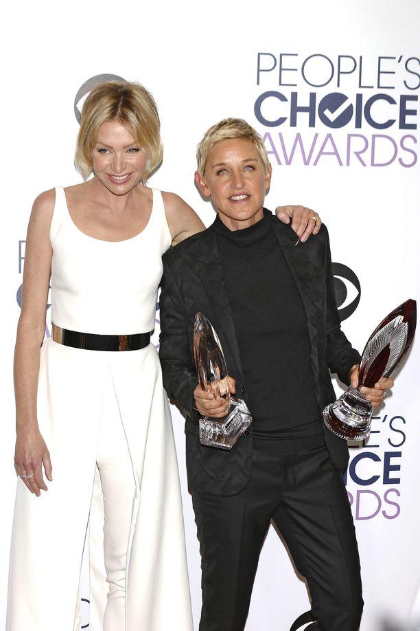 Portia De Rossin ja Ellen DeGeneresin suhteessa luotetaan keskinäisen yhteisymmärryksen voimaan.