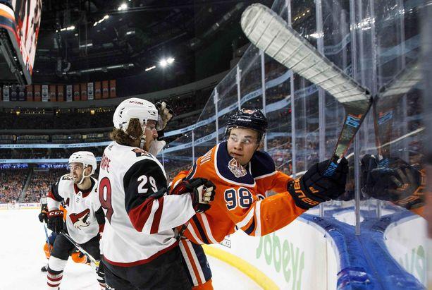 Jesse Puljujärven NHL-ura ei ole lähtenyt liitoon kolmena ensimmäisenä kautena.