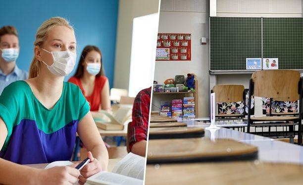 Kahden metrin turvaväli luokkahuoneessa aiheuttaa nyt pähkäilyä monessa koulussa.