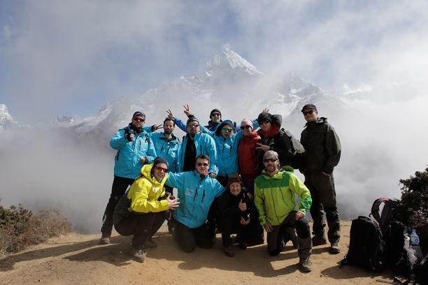 Rockin High -retkikunnan matkasta Everestille kuvataan dokumenttielokuva.