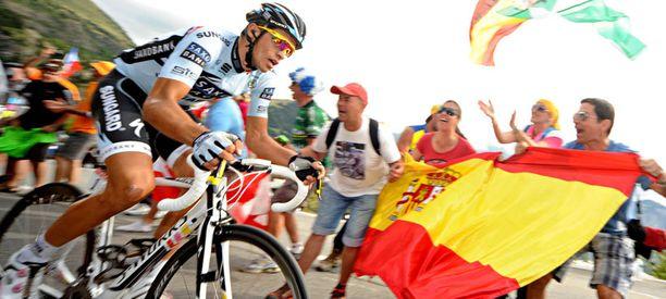 Alberto Contador on dopingepäilyjen alainen.