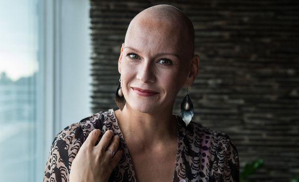 Heidi Sohlberg taistelee syöpää vastaan.