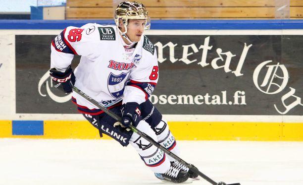 Erik Thorell ampui HIFK:n voittomaalin.