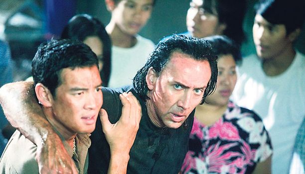 Nicolas Cage on kivikasvoinen palkkatappaja.