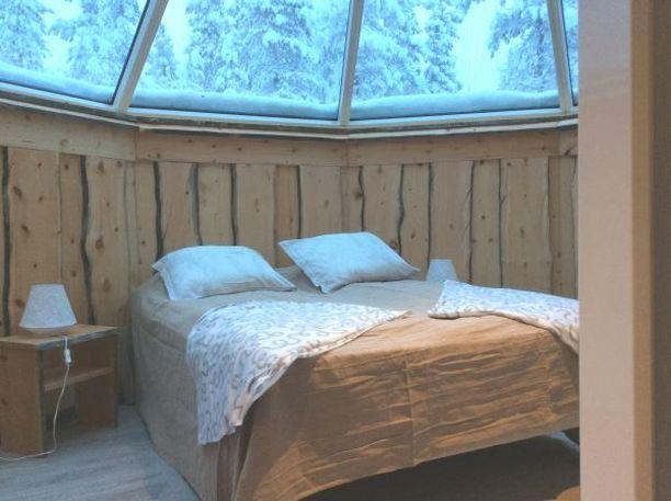 Persoonallisen Hiihtäjän kodan voi vielä vuokrata Saariselältä jouluksi.