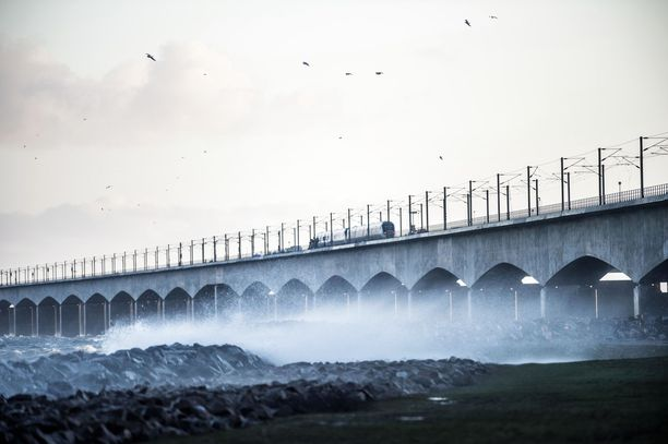 Ison-Beltin silta on maamerkki Tanskassa.