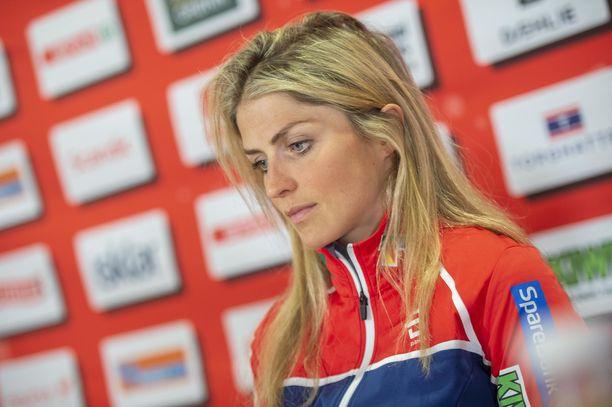 Therese Johaug ei ole varma, kilpaileeko hän vielä reilun kahden vuoden päästä Pekingissä.